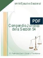 Compendio Juridico de La Seccion 54