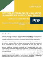 Sistema Integrado de Vigilancia Alimentaria Nutricional (SIVAN)
