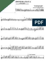 Indonesia Raya Versi Orchestra Symphoni - Violin I