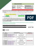 Guía de Estudio Italiano Ciclo 4° - 19ITL0402N