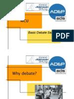 Centralino Debate Seminar