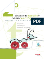 Comic Transporte y Cambio Climático CCOO Aragón