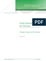 India Opens Skies for Drones - Legal and Tax Analysis