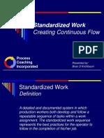 Standardized Work