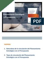 Vinculacion plan y presupuesto ppt