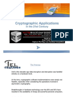 D2 - Dino Covotsos - Cryptographic Applications in the 21st Century