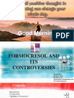 Formocresol and Its Controversies