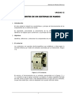 componentes de un sistema de mando