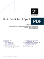 Basic Principles of Spectroscopy