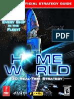 Homeworld Primas Official Strategy Guide