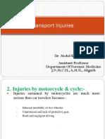 Transport Injuries