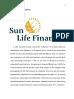 Sun Life Final Paper
