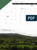 Northwest Ireland Calendar 2011