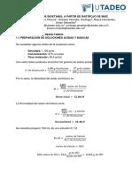 Informe N°1 Quimica Analitica