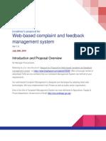 Web Based Complaint System