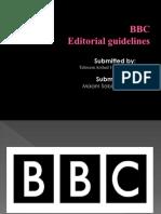 BBC Editorial Policies