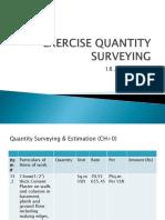 Quantity Surveying & Estimation-2
