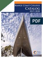 Course Catalog OCC 2019-2020