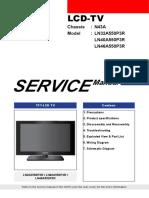 TV LCD -Samsung LN32A550P3R Chasis N43A.pdf