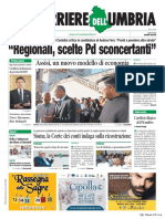 Rassegna stampa dell'Umbria 3 settembre 2019 UjTV News24 LIVE