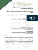 Dialnet-Pensamiento Magico en Estudiantes Estudio Comparado Entr-6175012