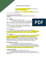 Etiologia Das Doenças Periodontais I