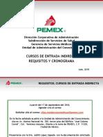 Pemex requisitos