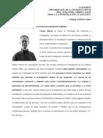 La investigación cualitativa Packer Martin