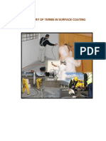Glossary of Terms in Surface Coating