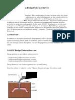 Innovative Method on Design patterns