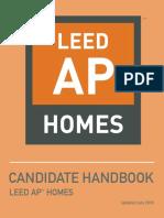 LEED AP HOMES HANDBOOK