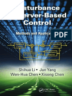 -Disturbance Observer-Based Control_ Methods and Applications