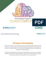 Cloud Computing Program Brochure