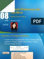 PPT 8 Kapasitas Produksi Skidding