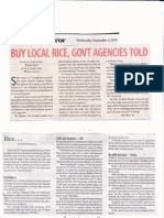 BusinessMirror, Sept 4, 2019, Buy local rice, govt agencies told.pdf