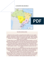 AS REGIÕES BRASILEIRAS E VEGETAÇÃO (1)