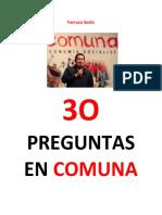Farruco Sesto. 30 Preguntas en Comuna