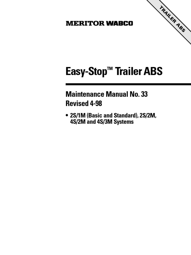 Utility Trailer Abs Wiring Diagram Control 1996 S15 Halidex Explained Diagrams Rh Sbsun Co
