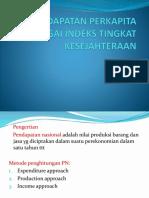 (7)PENDAPATAN PERKAPITA SEBAGAI INDEKS TINGKAT KESEJAHTERAAN.pptx