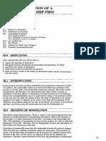 Dissolution Notes