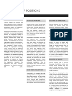 Definitions of Positions Architectural Firm