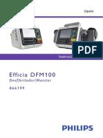 Philips Efficia Dfm100 Spanish Instructions for Use