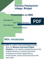CGM Presentation MIDI
