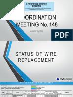 Sample progress report of contractor