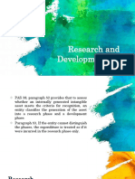 Review - Research and Development Cost