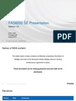 FAS8200 SE Presentation