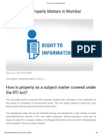 RTI related info