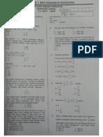 PTS Matematika Semester Ganjil 2017 2018