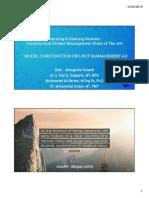 Model Construction Project Management 4.0