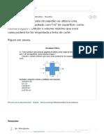 Para construir uma caixa de papelão se utilizou uma chapa de recorte quadrado com 1 m² de - Brainly.com.br.pdf